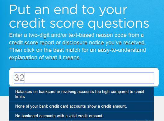 credit-score-reason-code-no-32