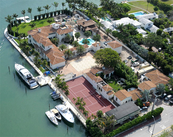Most expensive u s rentals in 2014 florida mortgage firm for Best houses in miami