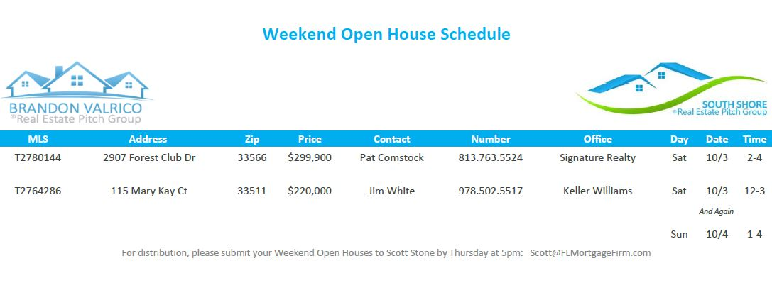 Florida-Mortgage-Firm-weekend-open-house-schedule