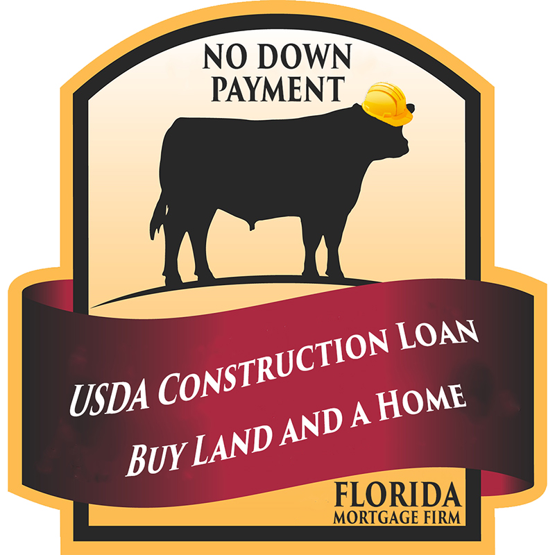 Usda construction loan to build a home florida mortgage firm Interest only construction loan
