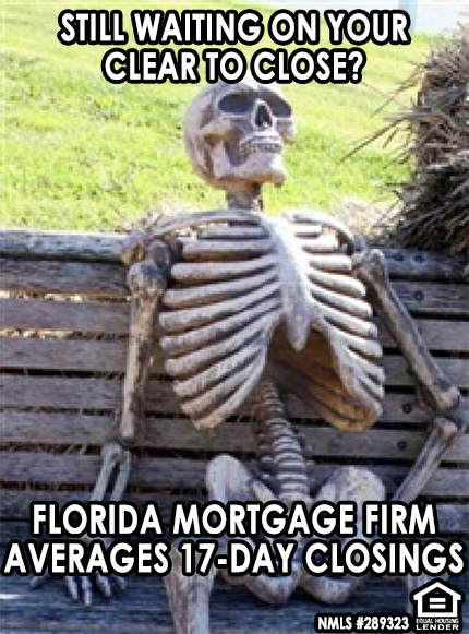 Florida Mortgage Firm Skeleton Meme