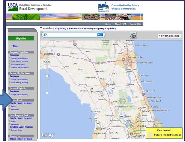 Usda Property Eligibility Map USDA to Update Property Eligibility Maps for USDA Mortgage Loan